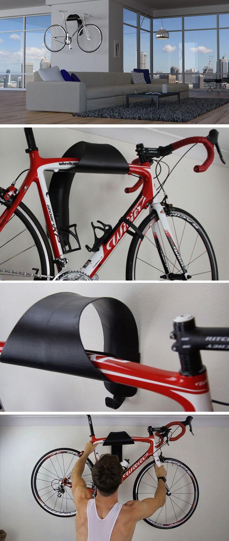 best 25 bike wall mount ideas on pinterest wall bike. Black Bedroom Furniture Sets. Home Design Ideas