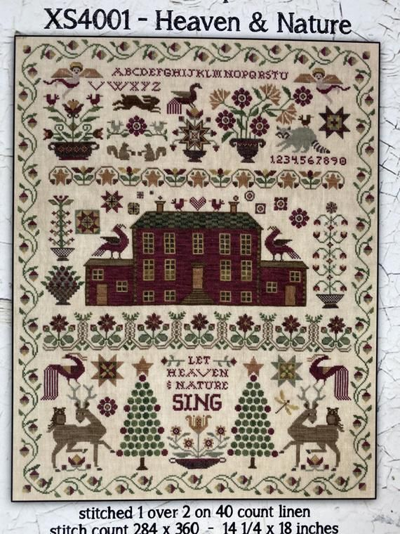 14 Count 7-3//4 by 11-1//4-Inch Janlynn Joy in The Journey Counted Cross Stitch Kit