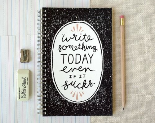 writing motivation notebook  etsy:  Spiral Notebook by witandwhistle.