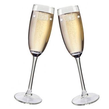 Flûtes à champagne personnalisées prénom
