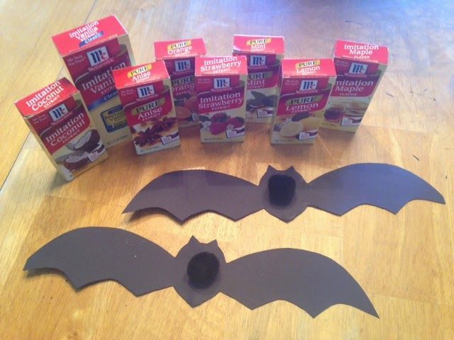 """Science Experiment, """"How Bats Use Their Sense of Smell to Locate Their Young"""" (from Mrs. Ehle's Kindergarten Connections)"""