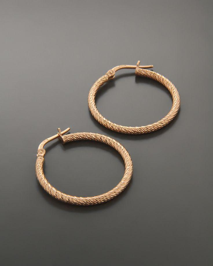 Σκουλαρίκια κρίκοι Ασημένια 925