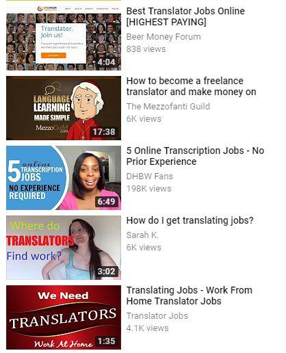 Trabajos de traductor para el idioma inglés. Aproveche su red profesional y hágase contratar ..... Trabaje desde casa ... Visite.