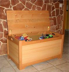 Réaliser un coffre à jouets en bois - Bois.com