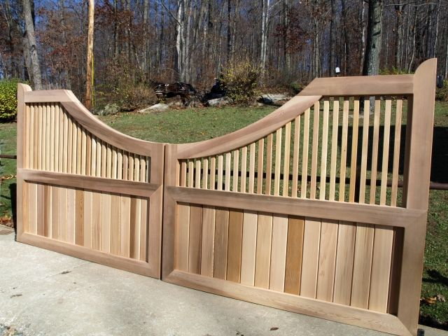 38 Best Cedar Driveway And Entranceway Gates Images On