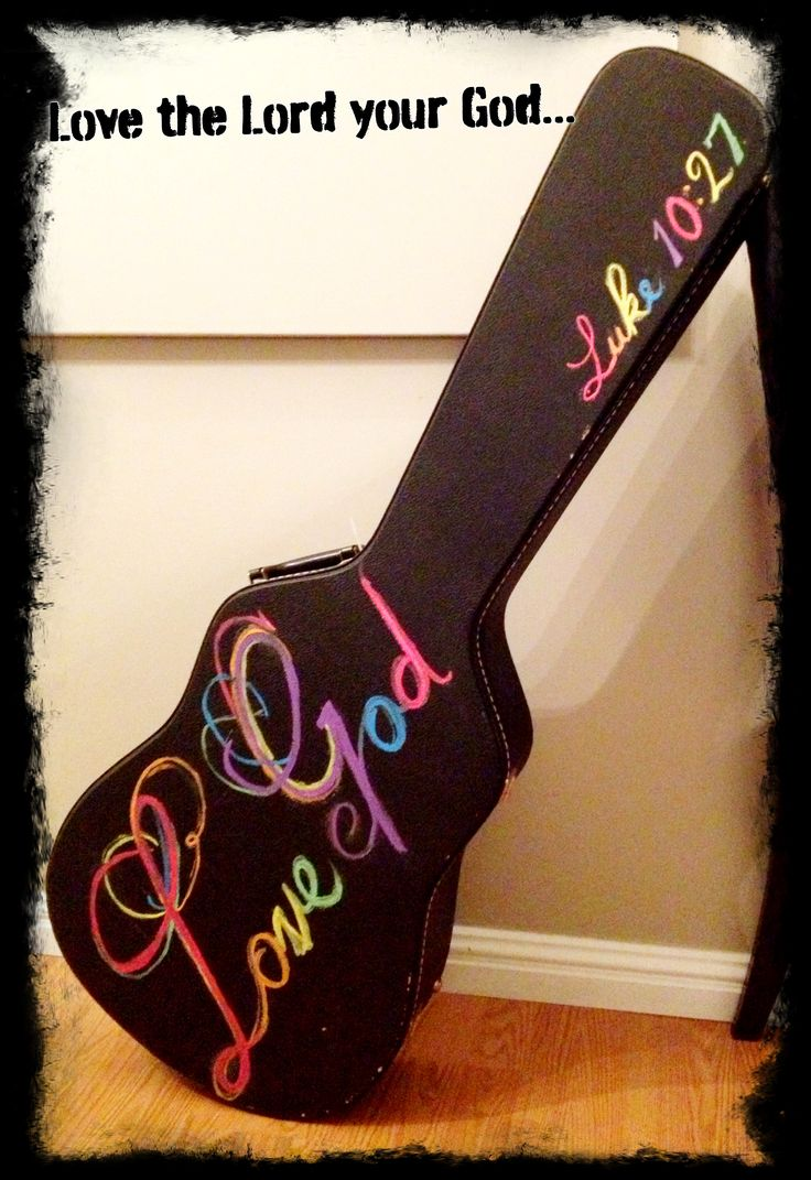 50 Best Images About Painted Guitar Ideas On Pinterest