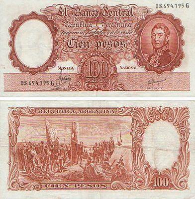 100 pesos moneda nacional