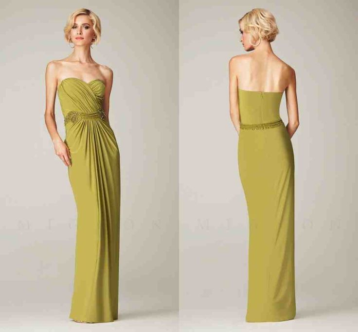 The 25+ best Olive green bridesmaid dresses ideas on ...