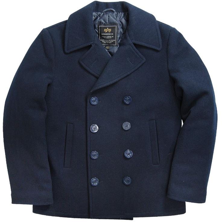 Alpha Industries USN Pea Coat