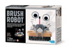 NEW// Zelf borstelen beu? Geen nood, samen met je kid kan je een mechanische borstel in elkaar zetten. Voeten op tafel e, laat de robot borstel het werk maar doen!  Een prachtig zelfbouwkit vanM Fun Mechanics om een robot borstel mee te maken! De robotborstel is grappig en slim;) Geschikt voor kinderen van 8 jaar en ouder.  http://www.exkidition.com/nl/speelgoed/educatief/d/4m-kidzlabs-fun-mechanics-kit-borstel-robot