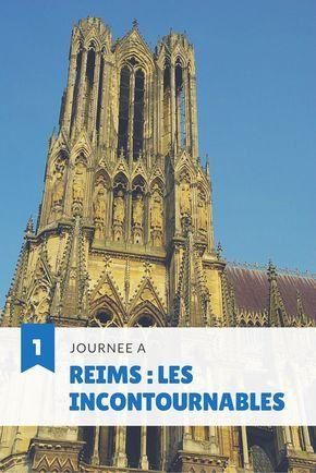 Un programme d'une journée pour découvrir Reims, capitale de la Champagne et son patrimoine classée à l'UNESCO
