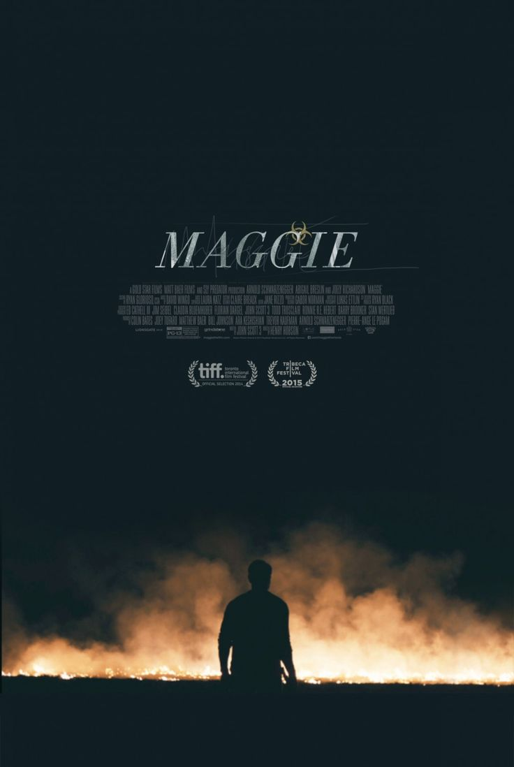 Poster design top 10 - Maggie Movie Poster Of