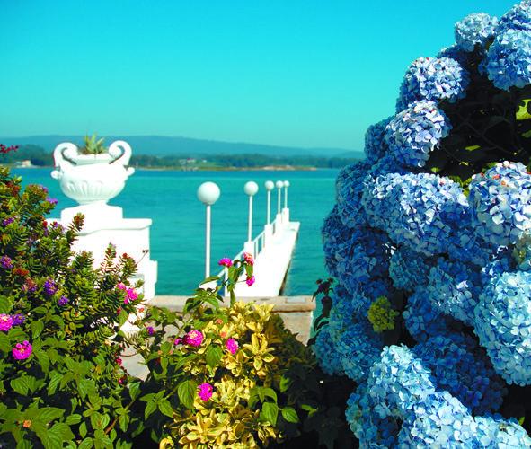 Gran Hotel La Toja, Galicia, España. Ideal para desconectar y relajarse un fin de semana o una fecha especial.