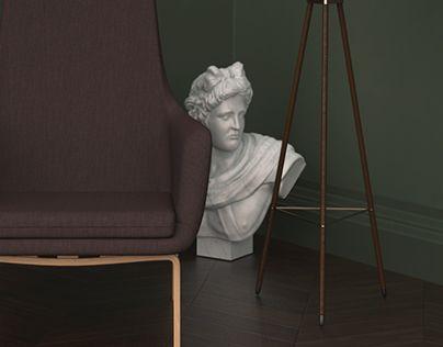 "Check out new work on my @Behance portfolio: ""Normann Copenhagen - Era Lounge Chair"" http://on.be.net/1Jd2Rcb"