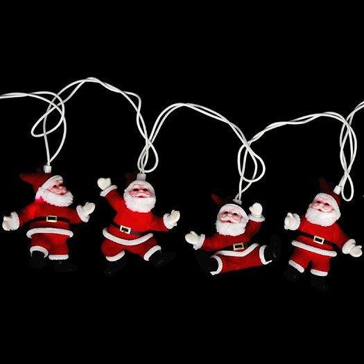 Guirlande lumineuse - Père Noel #noël #guirlande #lumineuse #pérenoël #design : 10€ ww.cmachambre.fr