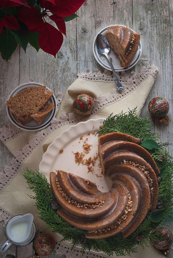 Receta de Bundt Cake de Speculoos para My Karamelli / Speculoos Bundt Cake recipe