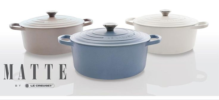 Le Creuset Matte Collection!!