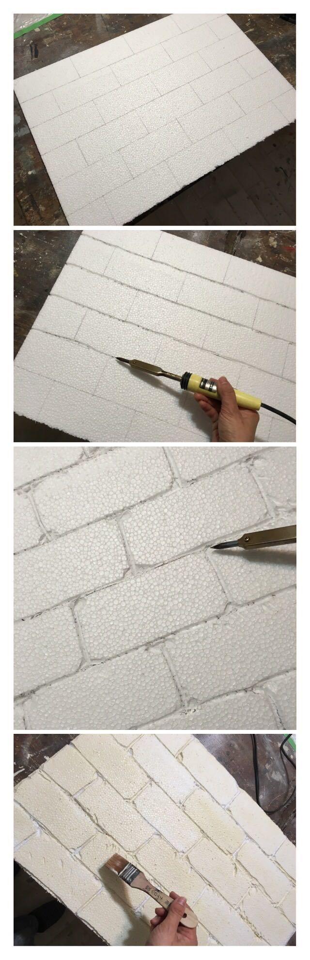 ヨーロッパ調のインテリアには欠かせない、レンガの壁。「憧れるけれど、自宅の壁にレンガを貼るのはちょっと勇気がいるし、しかも高価……。」そんな時は、発泡スチロールでレンガ風の壁を作ってみましょう。  今回は、プチプラな発泡スチロールを材料にして作る、レンガ風壁のDIYをご紹介します。