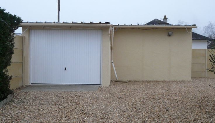 Pose double garage pr fabriqu romorantin garage en pr fabriqu pinterest garage - Garage double prefabrique ...