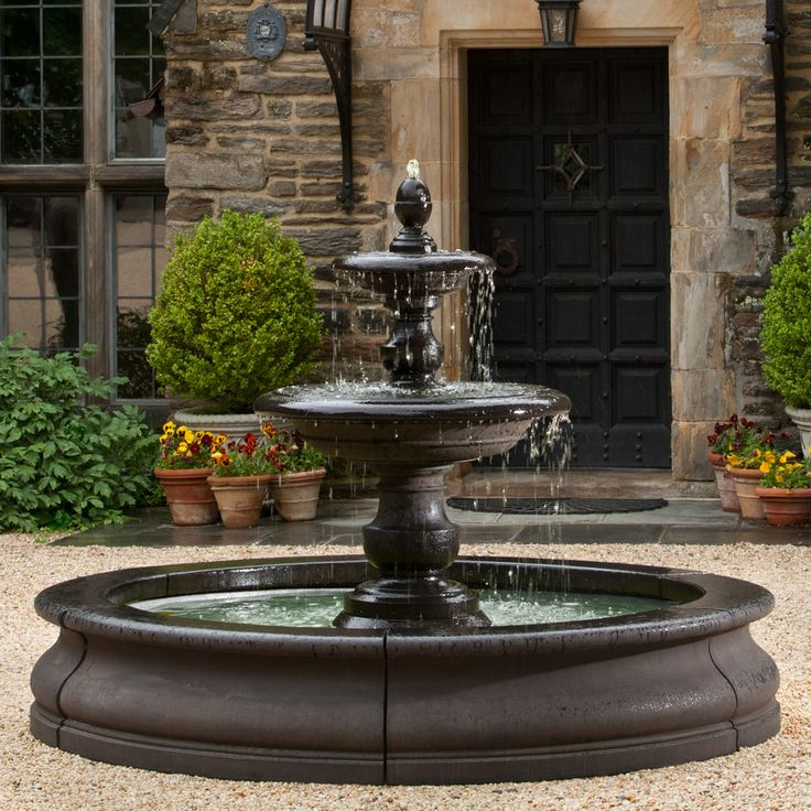 Large Outdoor Wall Fountains 7 best {large estate garden fountains} images on pinterest