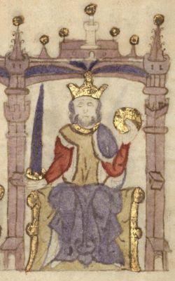 Alfons I port. Afonso Henriques, nazywany Zdobywcą (ur. 25 lipca 1109, zm. 6 grudnia 1185 w Coimbra) – syn Henryka Burgundzkiego i Teresy, pierwszy król Portugalii, od 26 lipca 1139, pobił matkę i jej kochanka (hrabinę Portucale) pod S. Mamedę w 1128. Po wygranej z Maurami znaczącej bitwie pod Ourique w 1139 Alfons Henriques zaczął tytułować się królem. Jednak tytuł królewski został użyty po raz pierwszy oficjalnie w relacjach zewnętrznych w roku 1143 w traktacie z Zamory zawartym z Alfonsem…
