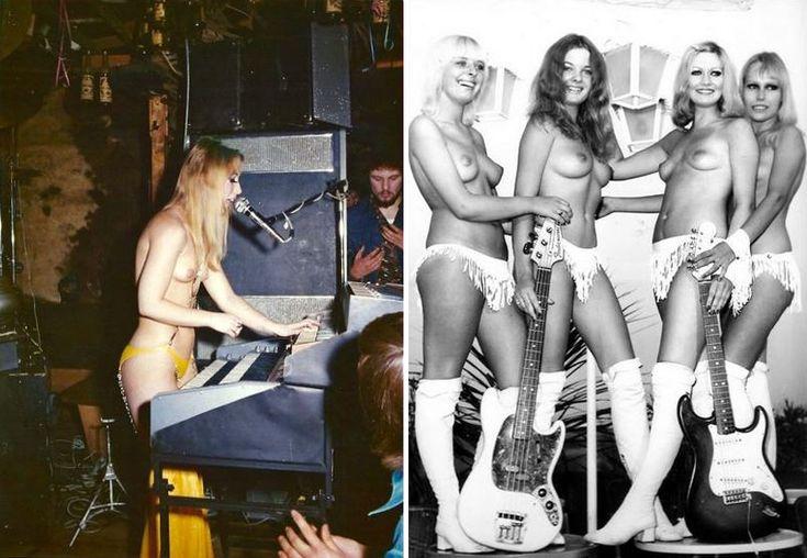 что порно рок группа девушка вынуждены