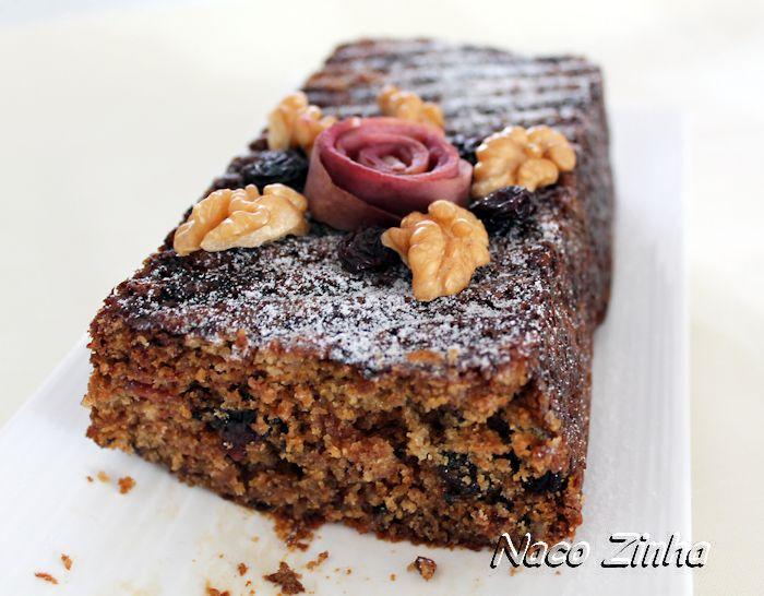 Bolo de maçã, passas e nozes » NacoZinha - Blog de culinária, gastronomia e flores - Gina