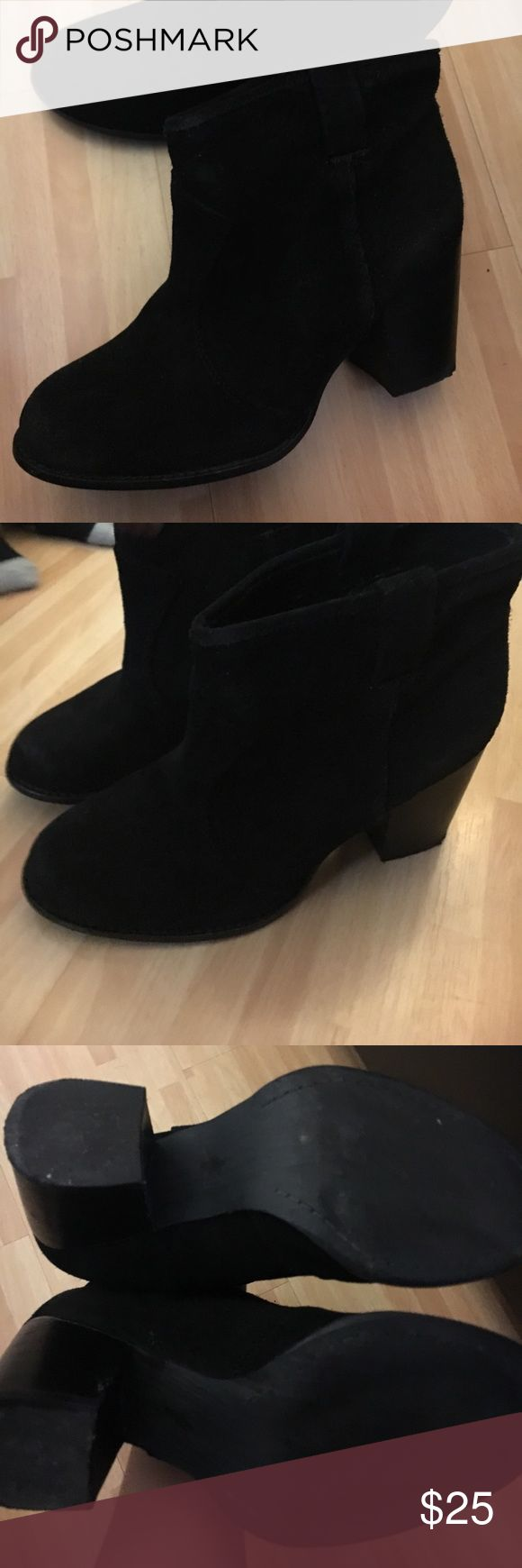 Splendid Lakota black booties Super cute black booties really comfortable moving need to get rid of as much in my closet Splendid Shoes Ankle Boots & Booties