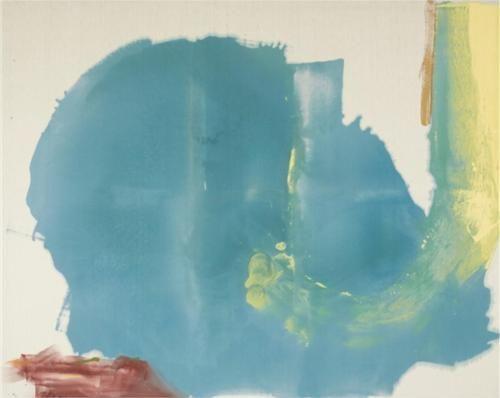 Where Necessary - Helen Frankenthaler