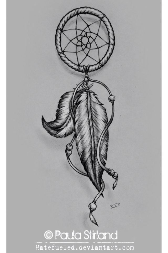 I simply adore dream catchers every single one can be for Dreamcatcher tattoo template