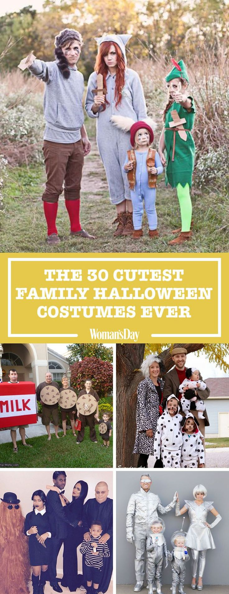 40 Best Family Halloween Costumes 2017 - Cute Ideas for Themed Costumes for Families
