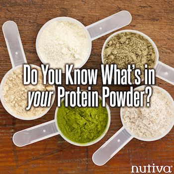 Heavy metals in protein powder