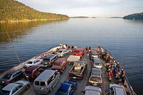 BC Ferries Ride - Leaving Salt Spring Island. (via Eileen Seto)