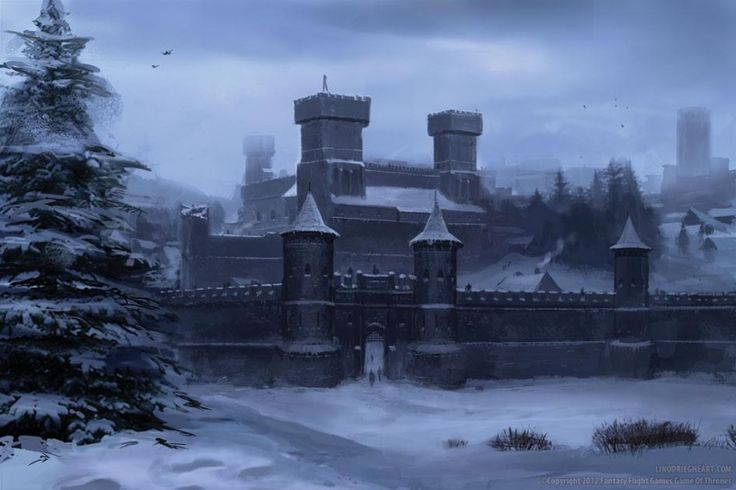 Winterfell by Lino Drieghe (Fantasy Flight Games)