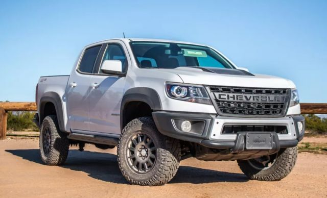 2020 Chevy Colorado Changes Specs Zr2 Bison Chevy Colorado