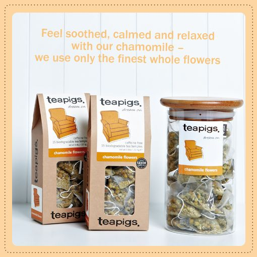 Sweet and soothing chamomile