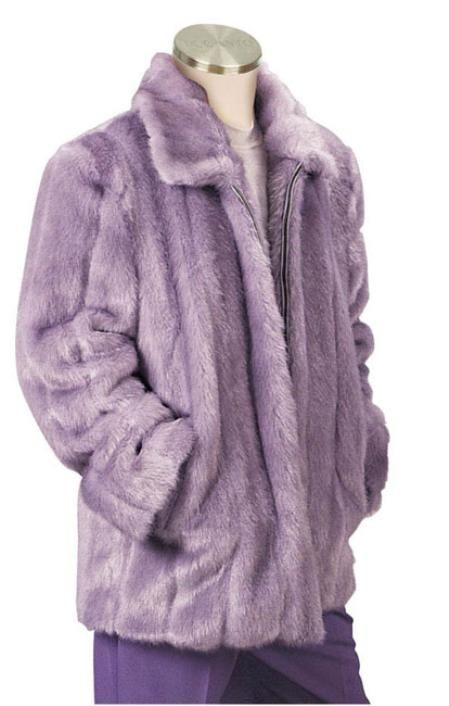 Mens Faux Fur Coat Lilac for only US $199, try this one.Buy more save more. Buy 3 items get 5% off, Buy 8 items get 10% off.
