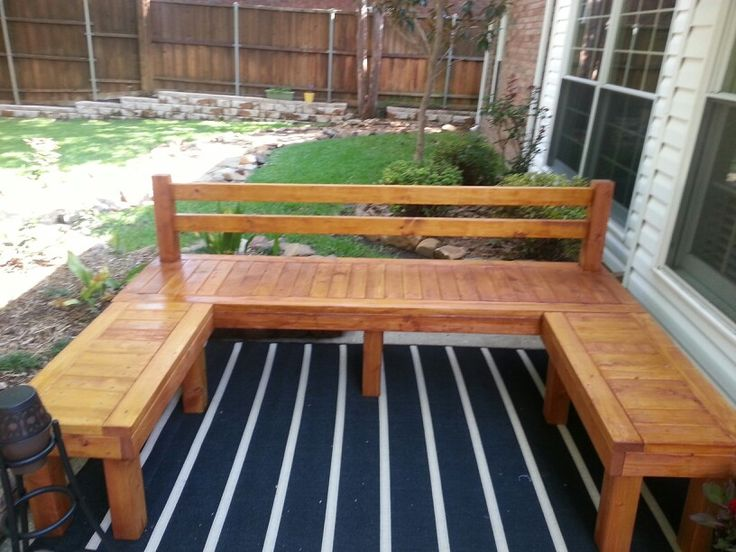 Wood bench, 2x4s and 4x4 | My completed rojects | Pinterest | Photos, Wood benches and Woods