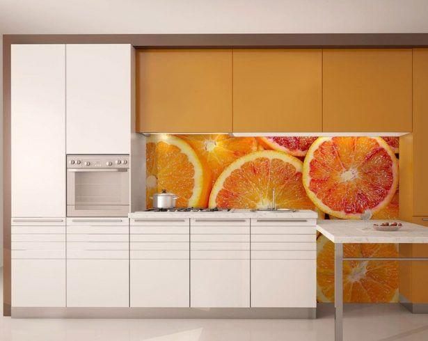 Best 25 Orange Kitchen Wallpaper Ideas On Pinterest