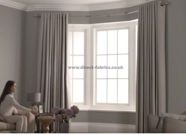 See Our Latest Bay Window Curtain Pole That Actually Works With