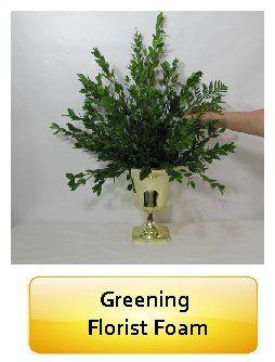 Florist Supplies - How to Block in Wet Florist Foam