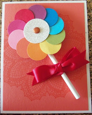 Lollypop Stampin' UP!