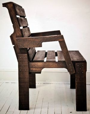 great looking pallet chair