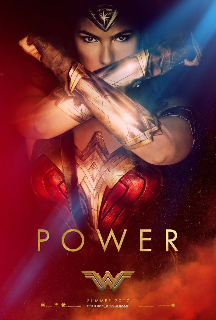 Wonder Woman preview movie poster, Summer 2017 - Visit to grab an amazing super hero shirt now on sale!