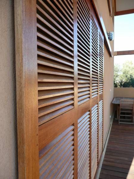 Populaire 90 best Volets bois coulissants www.volet-bois.com images on  IP75