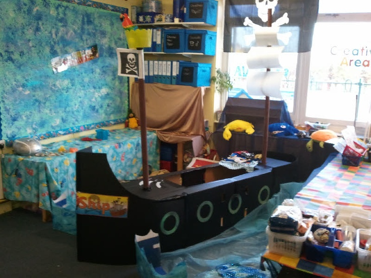 Pirate Ship role-play area from Morag