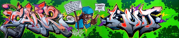 CanTwo- one of my favorite graffiti artists