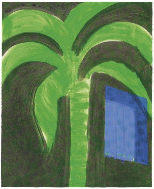 Howard Hodgkin | Palm and Window (1990-1991) | Available for Sale | Artsy