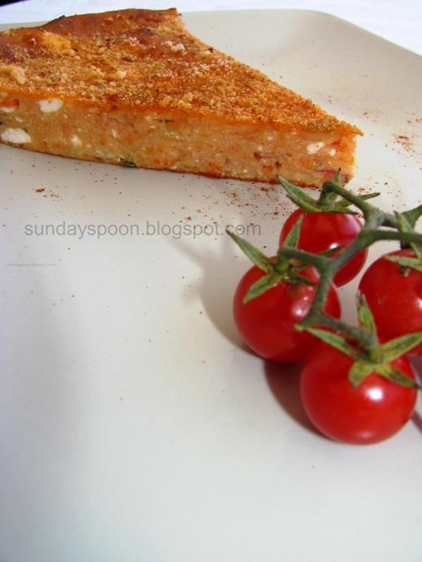 Ντοματόπιτα με μπέικον • sundayspoon