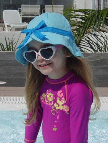 Kopfbedeckung für das perfekte Sommeroutfit - Nähanleitung und Schnittmuster via Makerist.de